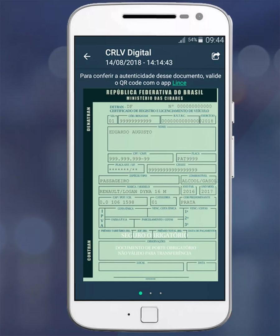 Saiba como ter documento digital para veículos do ES